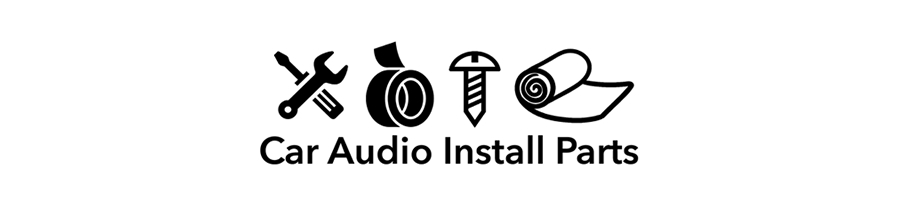 Car Audio Install Parts